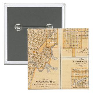 Plans of Hamburg Sidney Farragut Buttons