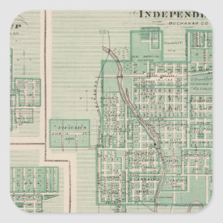 Plans of Independence Square Sticker