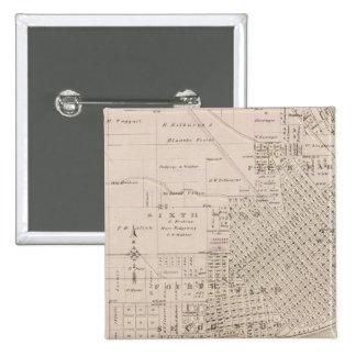 Plans of Keokuk, Forest City 15 Cm Square Badge