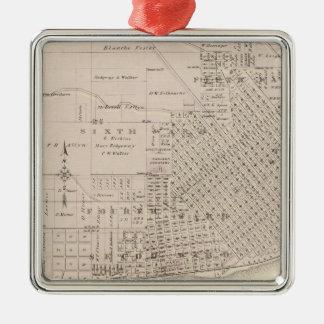 Plans of Keokuk, Forest City Christmas Ornament