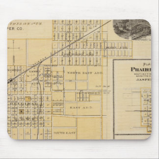 Plans of Newton, Prairie City Mouse Mat