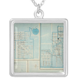 Plans of Shenandoah, Bedford Silver Plated Necklace