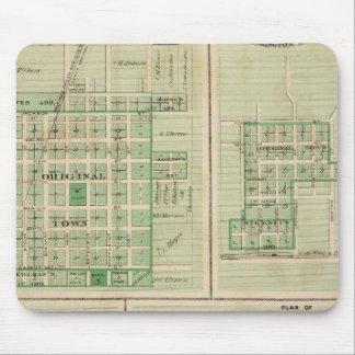 Plans of Sigourney, Brighton Mouse Mat