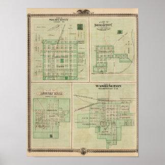 Plans of Sigourney, Brighton Poster