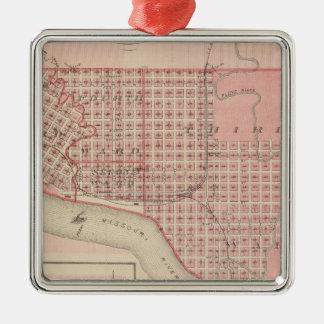 Plans of Sioux City, Le Mars Christmas Ornament
