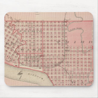 Plans of Sioux City, Le Mars Mouse Mat