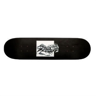 Plans Skateboard Deck