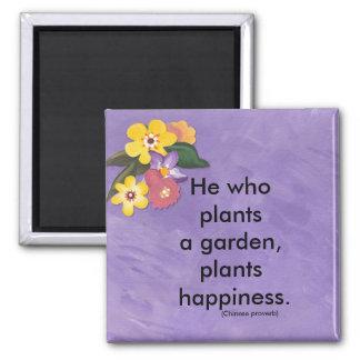 plant a garden magnet