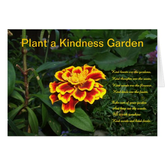 Plant a Kindness Garden Card