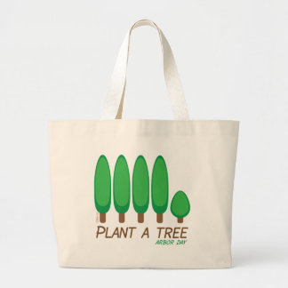 Plant a Tree - Arbor Day Jumbo Tote Bag