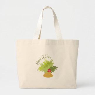Plant A Tree Canvas Bag