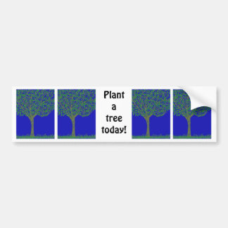 Plant a Tree Bumper Sticker