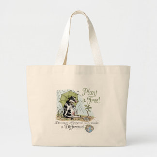 Plant a Tree Earth Day Cow Gear Bags