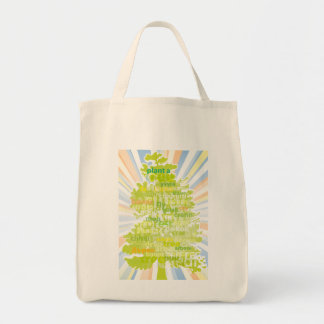 Plant A Tree International Translation Canvas Bags