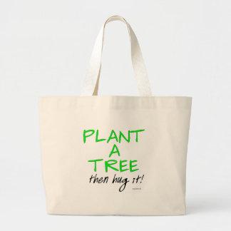 PLANT A TREE JUMBO TOTE BAG