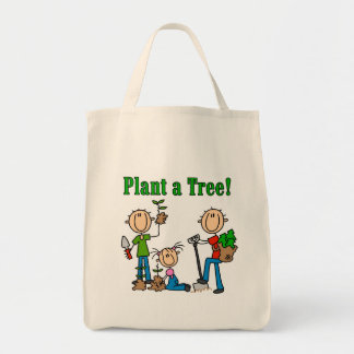 Plant a Tree T-shirts and Gifts Canvas Bag