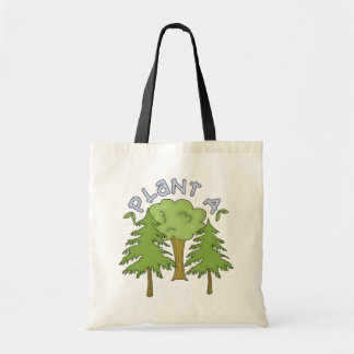 Plant a Tree T-shirts and Gifts Canvas Bags