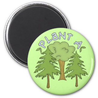 Plant a Tree T-shirts and Gifts Refrigerator Magnets