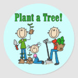 Plant a Tree T-shirts and Gifts Stickers