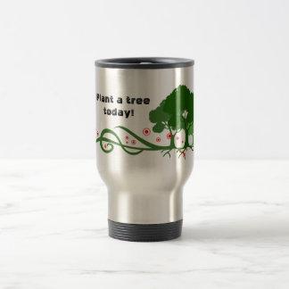 Plant a tree today! coffee mug