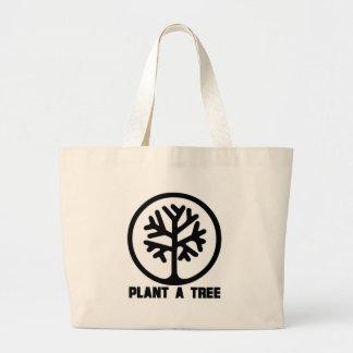 Plant a Tree TShirt Tote Bag