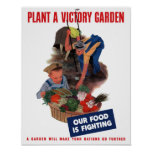 Plant a victory garden -- Our food is fighting