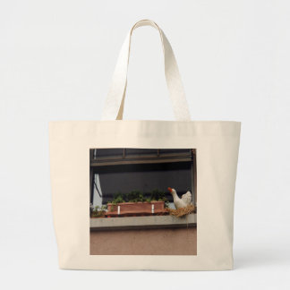 Plant and animal figure in the balcony tote bags