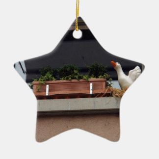 Plant and animal figure in the balcony christmas tree ornament