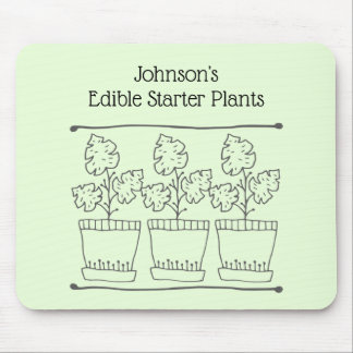 Plant and Tree Nursery Business Mouse Mat