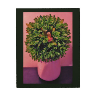 Plant Art Wood Canvases