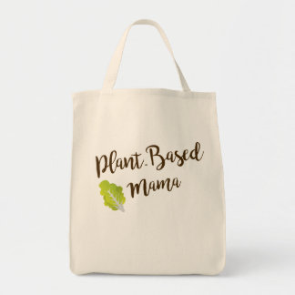 Plant-Based Mama Grocery Tote
