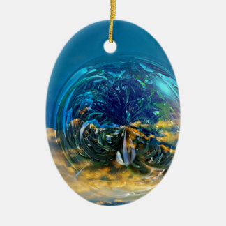 Plant Bubble Christmas Ornament