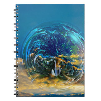 Plant Bubble Spiral Notebook