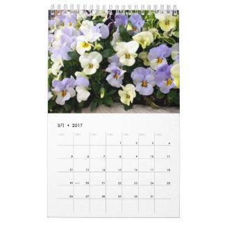 Plant calendar 2017