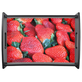 Plant City Strawberries Serving Tray