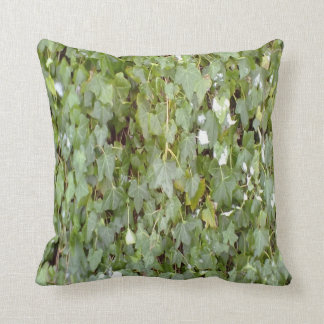 Plant covering stone wall cushion