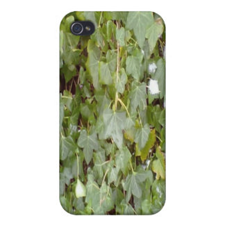 Plant covering stone wall iPhone 4 cover