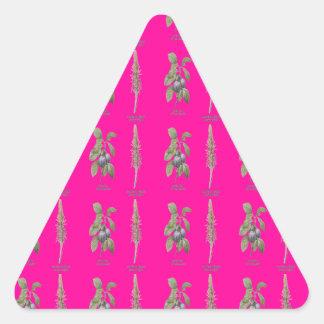 Plant Design Triangle Sticker
