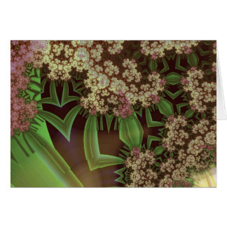 plant devas & grasshoppers among drying flowers 2 cards