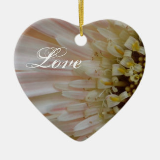 Plant for the Cure Flower-Heart Ornament