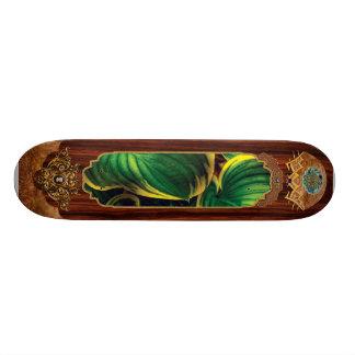 Plant - Hosta Leaves Custom Skate Board
