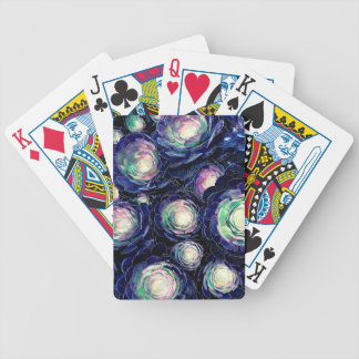 Plant Life At Night Bicycle Playing Cards