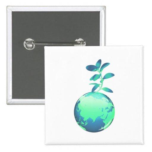 Plant Life Pin