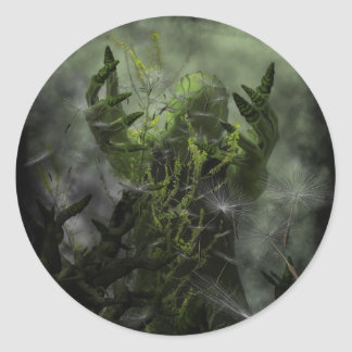 Plant Man Cometh Sticker