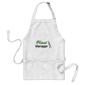 Plant manager apron