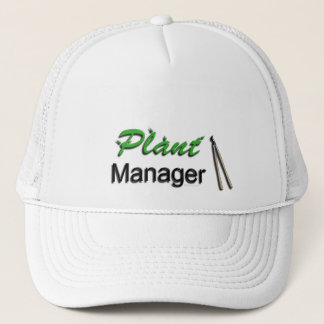 Plant Manager Garden Trucker Hat
