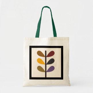 Plant natures art budget tote bag