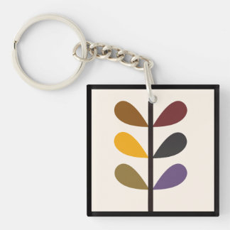 Plant Natures Art Key Ring