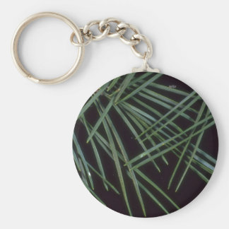 Plant Needles Key Chain