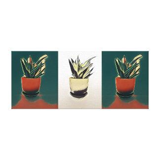 Plant Painting Canvas Print